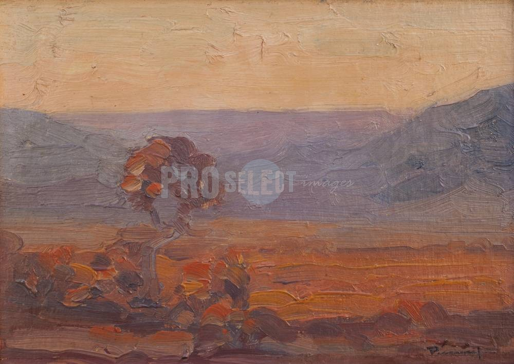 Rejection, criticism and triumph Jacob Hendrik Pierneef Afternoon in the bushveld